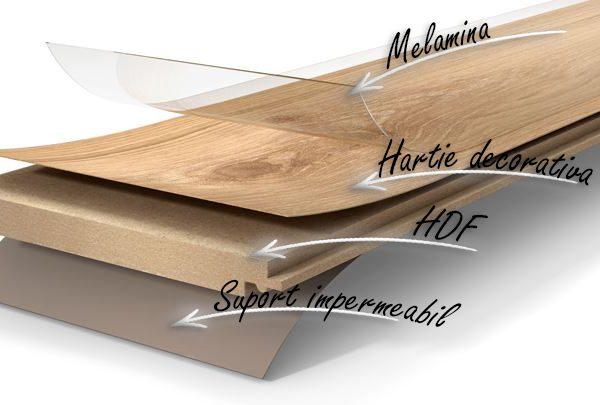 Parchet laminat Parador Classic 1050 Oak Vintage grey Wide plank