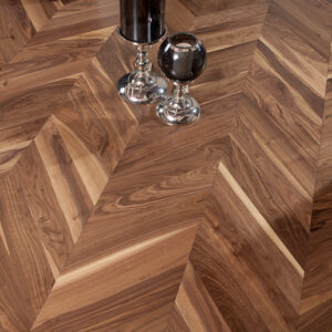 Parchet Dublustratificat Chevron Coswick American Walnut Traditional Lac Cod 1329-3101